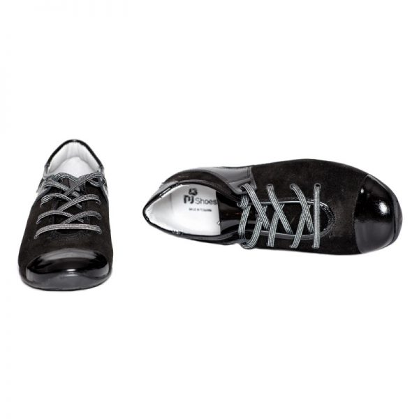Pantofi copii Marika negru Pj Shoes