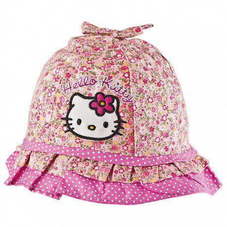 Palarie fetite Hello Kitty marime 48/18-24 luni