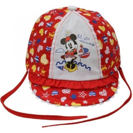 Palarie copii Minnie Mouse rosu