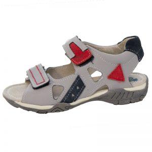 Sandale copii din piele naturala Tino