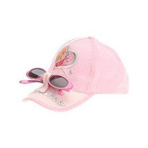 Sapca fete roz Princess cu ochelari de soare