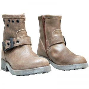 Cizme copii piele Sonia Pj Shoes maro