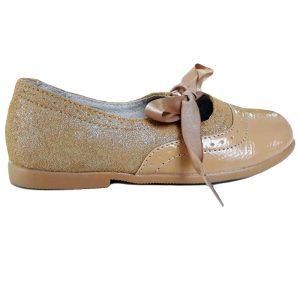 Pantofi copii crem din piele naturala 24-32