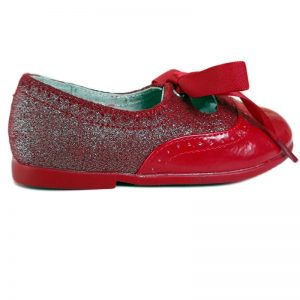 Pantofi copii rosii din piele naturala 24-32