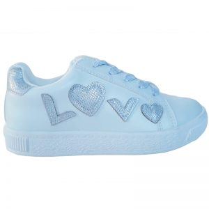 Pantofi sport fetite Love alb 29-36