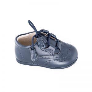 Pantofi din piele naturala copii bleumarin 20-25