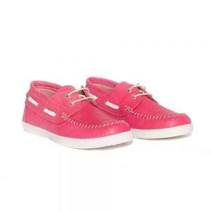 Mocasini copii din piele Jose Fuxia Pj Shoes