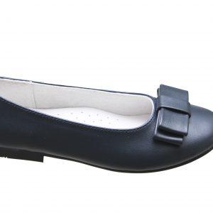 Pantofi fete bleumarin din piele naturala 28-35