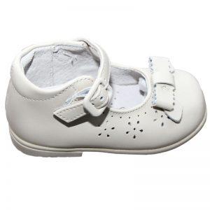Pantofiori copii din piele naturala ivoire 19-24