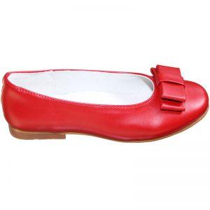 Pantofi fete rosii din piele naturala 28-35