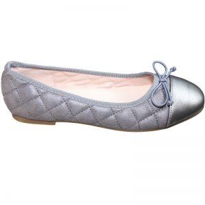 Pantofi fete cu fundita gri 32-38