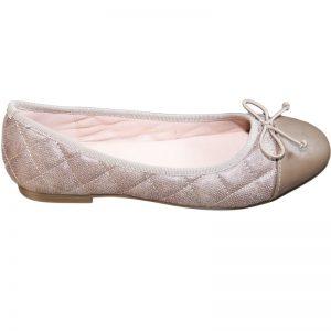 Pantofi fete cu fundita bej 32-38