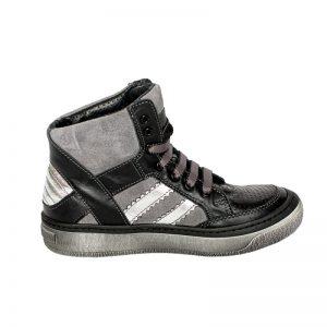 Gheata copii piele Box negru Pj Shoes 31