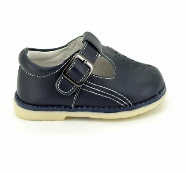 Sandale copii din piele naturala bleumarin 20-26