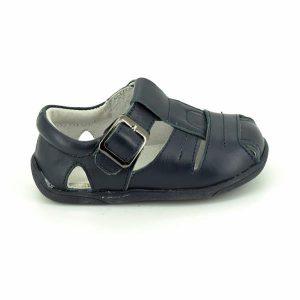 Sandale copii din piele naturala bleumarin 19-24