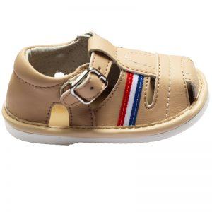 Sandalute copii crem primii pasi 17-22