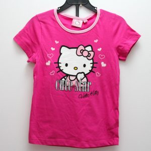 Set tricou si pantaloni scurti  Charmmy Kitty roz