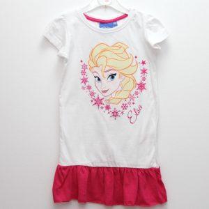Rochita copii Elsa alb roz