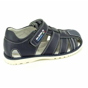 Sandale copii din piele naturala bleumarin 25-30