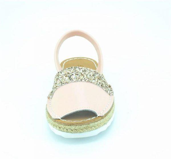 Sandale fete din piele naturala roz 29-36