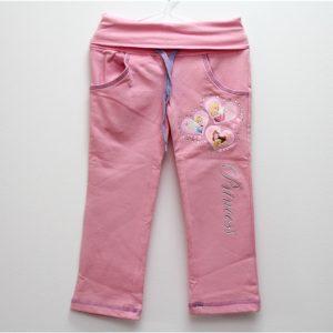 Pantaloni copii Princess roz 3 ani