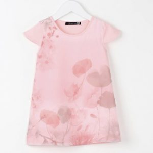 Rochita fete Losan roz piersiciu 3-7 ani