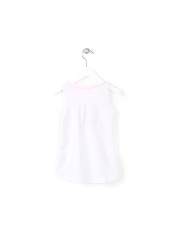 Tricou alb roz Losan Have Fun 2-8 ani