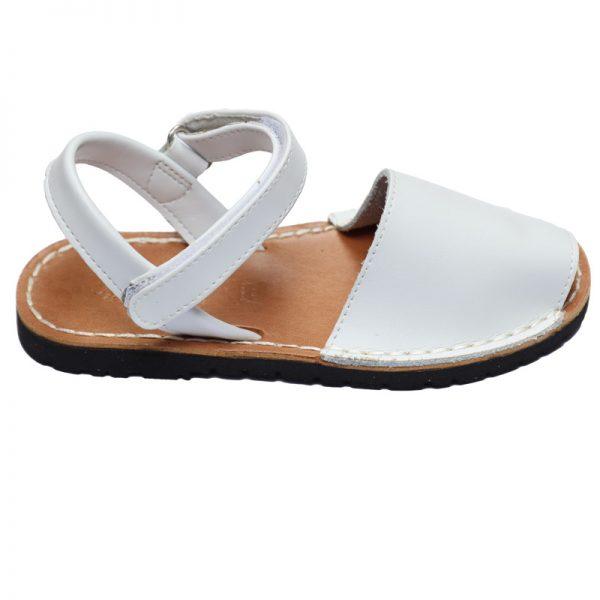 Sandale copii albe din piele naturala 28-35