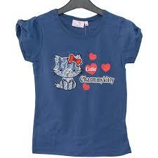 Tricou copii Charmmy Kitty bleumarin 3-8 ani