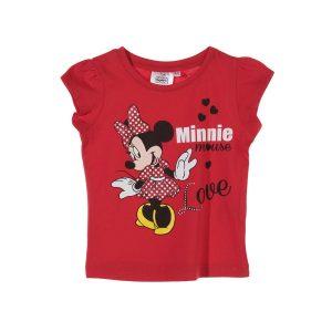 Tricou copii Minnie Mouse rosu 8 ani