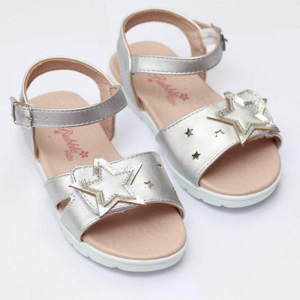 Sandalute fete argintii Star 26-31