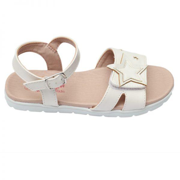 Sandalute fete albe Star 26-31