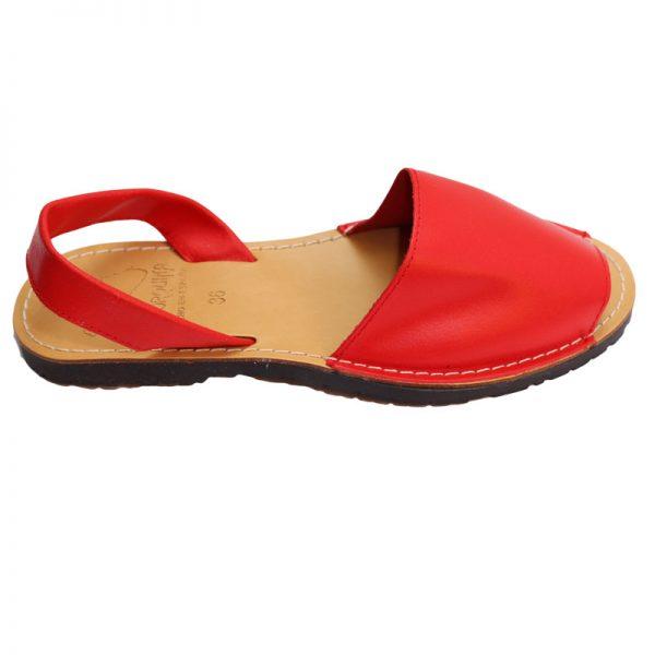 Sandale din piele naturala rosii 36-41