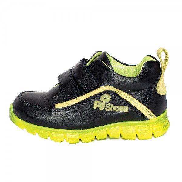 Pantofi piele sport Salvatore negru