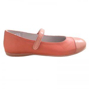 Pantofi din piele naturala Cherry Pj Shoes roz marime 36