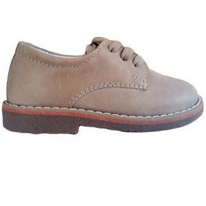Pantofi copii piele Denis bej Pj Shoes 24