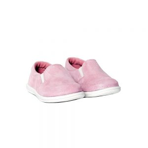 Mocasini copii piele Tar roz Pj Shoes