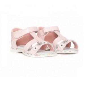 Sandale din piele Eva PJ Shoes Roz 20