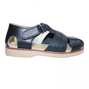 Sandale din piele naturala bleumarin 28-35