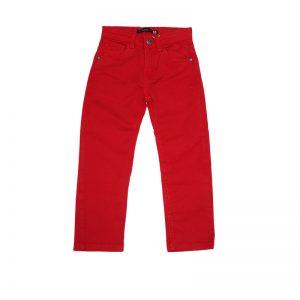 Pantaloni copii Losan 9650AC rosu pal 2-7 ani