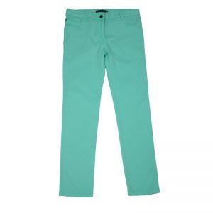 Pantaloni fete Losan 9650AB verde/bleu/ rosu pal 8-16 ani