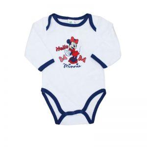 Body bebe, Disney Minnie Mouse alb