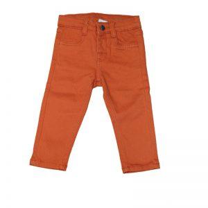 Pantaloni copii New Ness portocaliu inchis