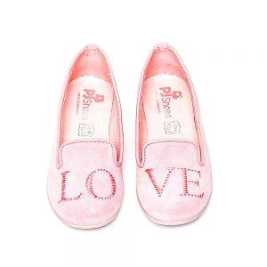 Pantofi balerini fete Pj Shoes Angel Roz 27-36