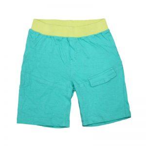 Pantaloni scurti sport baieti verde, marime 18-24 luni