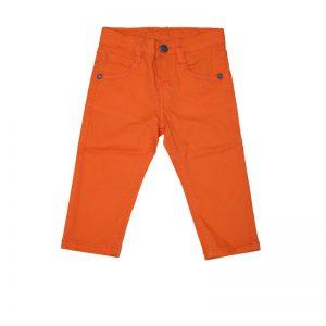 Pantaloni copii New Ness portocaliu luminos