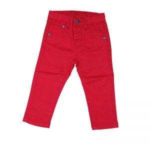 Pantaloni copii rosii New Ness