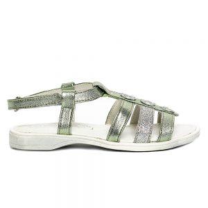 Sandale piele fete Gladiator Vernil PJ Shoes, marimi 24-31
