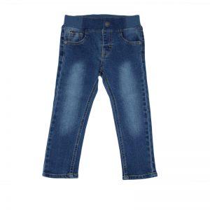 Jeansi copii NewNess cu talie elastica