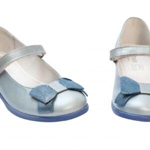 Pantofi balerini Lia cielo  PJ Shoes, mrimi 28-33